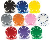 Suited 11.5 Gram Poker Chips