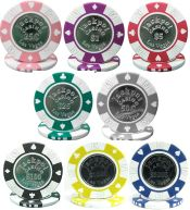 Jackpot Coin-Inlaid 11.5g Poker Chip