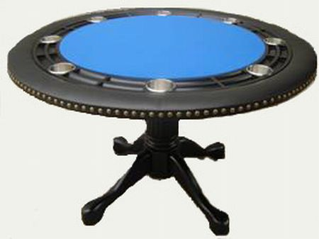 Round 54 Inch Furniture Poker table With Dining Top