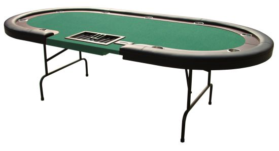 Folding poker table top 96 inch