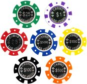 Casino Las Vegas 12 gram Coin Inlay Poker Chips