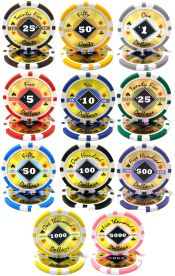 Black Diamond Series 14 Gram Poker Chips