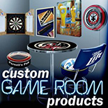 Custom Game Room Products