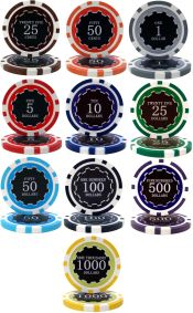 Eclipse 14 Gram Poker Chip Series