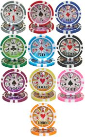 High Roller Series 14 Gram Poker Chips