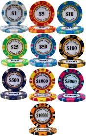 Monte Carlo Series 14 Gram Poker Chips