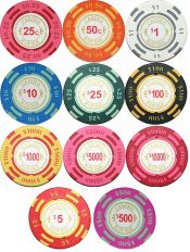 Casino Royale 13.5g Clay Poker Chips Series