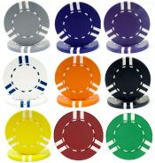 Soprano Striped Series Poker Chip 10 grams