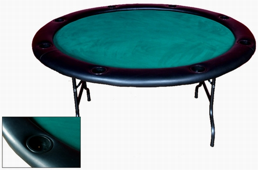 Charming Fold Legs Round Poker Table Folding Poker Table. Click Image To Enlarge