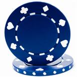 Blue Suited Casino Poker Chip 11.5 gm