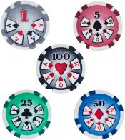HIGH ROLLER 11.5 gram Poker Chips