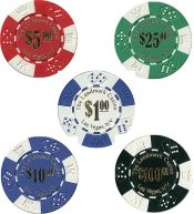 Landmark Casino Lucky 11.5g Poker Chips