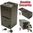 Double Security Drop Box with Shield