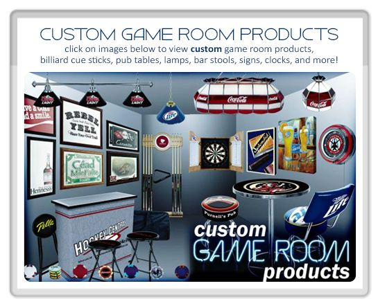Game Room Products Supplies For Den Bar Or Mancave