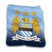 Manchester City Raschel Throw