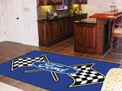 Ford Flags Rug 5'x8'