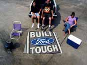 Built Ford Tough Tailgater Rug 5'x6'