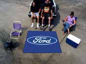 Ford Oval  Tailgater Rug