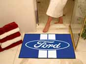 Ford Oval with Stripes All-Star Mat 33.75