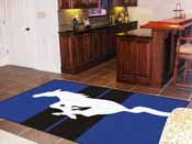 Mustang Horse  Rug 5'x8'