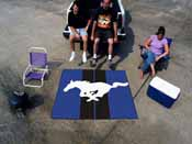 Mustang Horse  Tailgater Rug