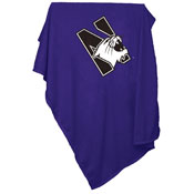 Northwestern Sweatshirt Blanket