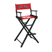 Boston Red Sox Bar Height Directors Chair