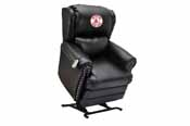 Boston Red Sox Coach Leather Lift Chair