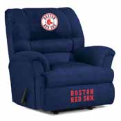 Boston Red Sox Big Daddy Microfiber Recliner