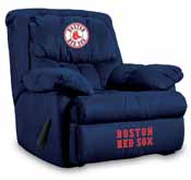 Boston Red Sox Home Team Microfiber Recliner