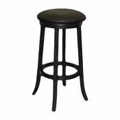 Imperial Bar Stool, Black