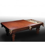 Imperial Conversion Dining Top, Antique Walnut