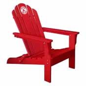Boston Red Sox Adirondack Chair- Red