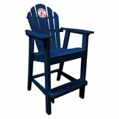 Boston Red Sox Pub Captain Chair-Navy
