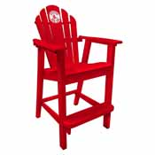 Boston Red Sox Pub Captain Chair- Red