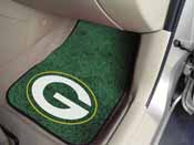 NFL - Green Bay Packers 2-piece Carpeted Car Mats 17