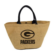 Green Bay Packers Avalon Jute Tote