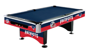 New England Patriots 8' Pool Table