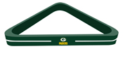 Green Bay Packers Billiard Triangle
