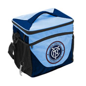 NYC Futbol Club 24 Can Cooler