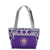 Orlando City SC Quatrefoil 16 Can Cooler Tote