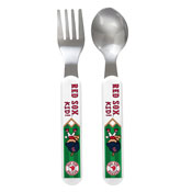 Fork & Spoon Set - Boston Red Sox