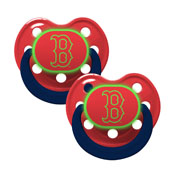 Pacifier (2 Pack) - Boston Red Sox Glow in the Dark