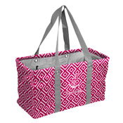 State of KY Pink/White Anchor Picnic Caddy