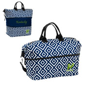 State of KY Navy/Lime Flip Flop DD Expandable Tote