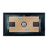 Brooklyn Nets Official NBA Court Framed Plaque