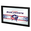 NHL Framed Logo Mirror - Columbus Blue Jackets