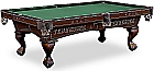 Tennessee Volunteers HBS Hardwood Billiard Table