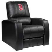 Boston Red Sox MLB Relax Recliner with Secondary Logo Panel