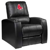 Boston Red Sox MLB Relax Recliner with Primary Logo Panel